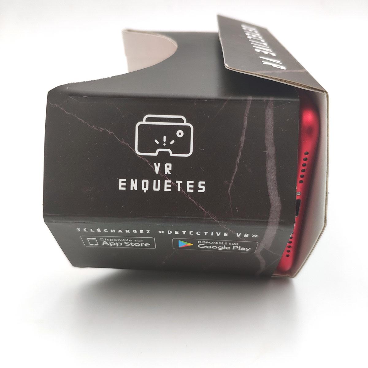 DETECTIVE VR - vue du casque VR - enquête de la tour du bourreau